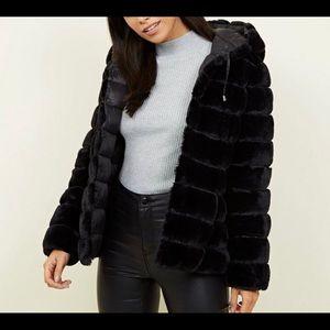Express faux fur reversible puffer jacket WMS Sm
